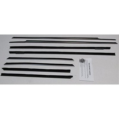 61 62 Cadillac Convertible Authentic Felt Weatherstrip Kit (8Pcs)
