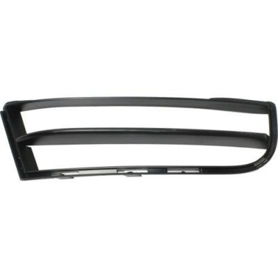 MAPM Premium Quality 135I 08-13 FRONT BUMPER GRILLE RH, Outer, Textured Black, w\ M Pkg., Convertible\Coupe