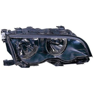 Compatible 2002-2003 BMW M3 Front Headlight Assembly Housing\Lens\Cover - Right (Passenger) Side - (2 Door; Convertible + 2 Door; Coupe) 63 12 6 919 644 BM2503123 Replacement For BMW M3