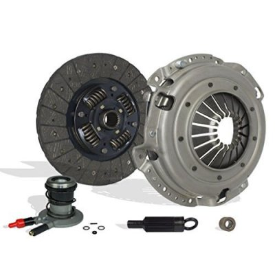Southeast Clutch Clutch With Slave Kit Works With Pontiac Firebird Chevrolet Camaro Base RS Coupe Convertible 2-Door 1996-2002 3.8L V6 GAS OHV Naturally Aspirated (4-Puck Disc Stage 3)