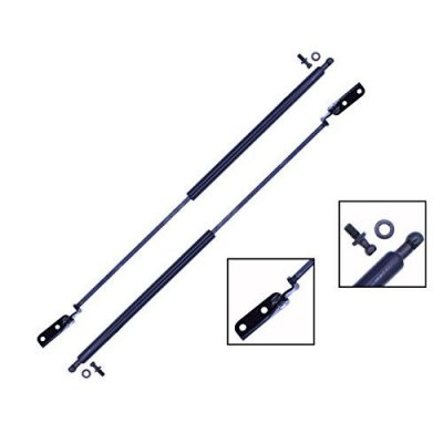 2 Pieces (SET) Tuff Support Hatch Lift Supports 1990 To 1994 Suzuki Swift, Geo Metro (Excluding Convertible)