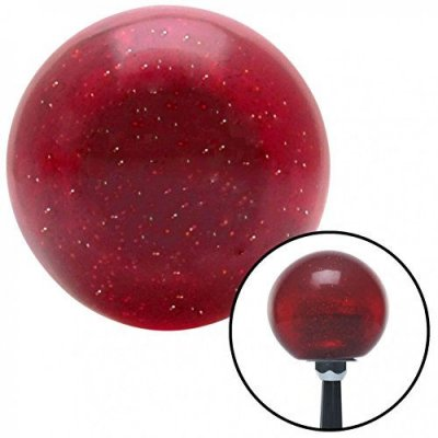 American Shifter Company ASCSNX35497 Blue I 3 My Convertible Red Metal Flake Shift Knob with 16mm x 1.5 Insert 510