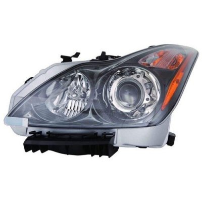2011-2013 Infiniti G37 Front Headlight Assembly Replacement Housing\Lens\Cover - Left (Driver) Side - (Convertible + Coupe) 26060-1NL0B IN2502148