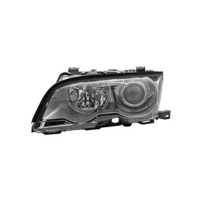 MAPM Premium PASSENGER SIDE HID HEAD LIGHT ASSEMBLY; SILVER BEZEL; CONVERTIBLE AND