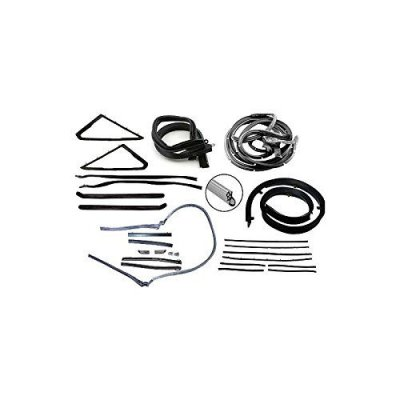 MACs Auto Parts 42-40647 Weatherstrip Kit - Convertible