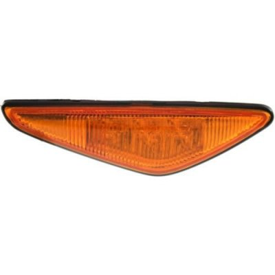 Perfect Fit Group B104511 - 3-Series Front Side Marker Lamp RH, Assembly, Side Repeater Lamp, Yellow, Coupe\ Convertible