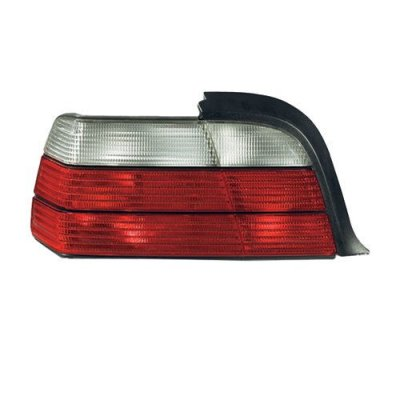 BMW 3 E36 Coupe Convertible Sedan 1992-1999 Tail Light Left LH Crystal Clear
