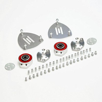 Front Camber Kit +\- 2.00 & Caster +\- 0.75 Left & Right Mini Cooper Convertible R57 09-15 FWD