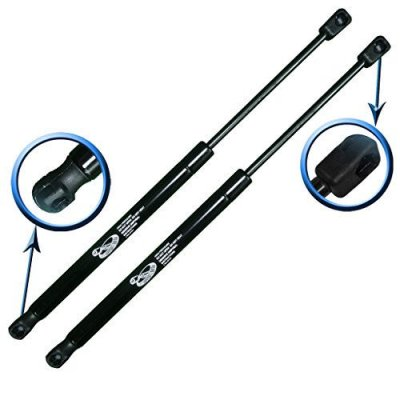 Two Rear Trunk Lid Gas Charged Lift Supports for 01-02 Audi TT Convertible With Spoiler, 01-02 Audi TT Quattro Convertible With Spoiler. Left and Right Side. LSC-0365-A-2