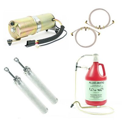 1967 1968 1969 Camaro \ Firebird Convertible Top Hydraulic System Cylinders Hoses Motor + Bleed Tool
