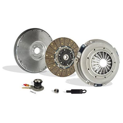 Clutch With Flywheel And Slave Kit Works With Chevy Corvette Base Z06 Indianapolis 500 Pace Car Coupe Convertible 1997-2004 5.7L V8 GAS OHV Naturally Aspirated
