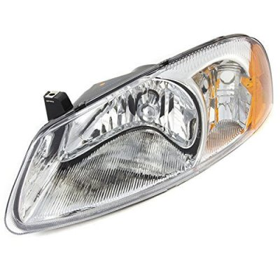 CarPartsDepot Fit 2001-2003 Chrysler Sebring 4DR\Convertible Front Head Light Driver CH2502128