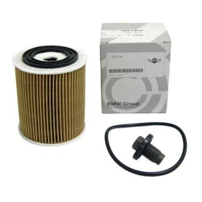 Mini Cooper OEM Oil Filter & Drain Plug for Hatchback (R50), Cooper S Hatchback (R53) and Cooper S Convertible (R53)