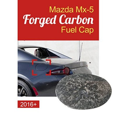 GOGOCARBON For MAZDA MIATA ROADSTER RF, GS, GT,GX, I Sport MX-5 Convertible 2016-2018 Forged Carbon Outside Fuel Cap Cover