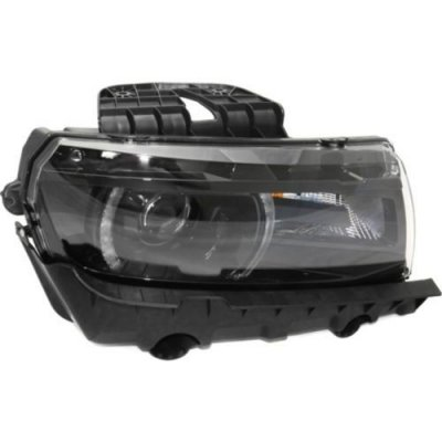 Make Auto Parts Manufacturing - CAMARO 14-15 HEAD LAMP RH, Assembly, HID, w\HID Kit, LT\SS Model, w\RS Pkg, Convertible\Coupe - GM2503392