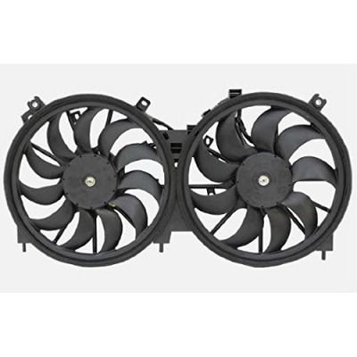 Dual Radiator and Condenser Fan Assembly - Cooling Direct For\Fit NI3115138 09-14 Nissan Murano 11-16 Quest 12-14 Murano Convertible