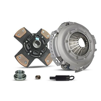 Clutch Kit Chevrolet Camaro Pontiac Firebird Base Convertible Coupe 2-Door 1993-1995 3.4L V6 GAS OHV Naturally Aspirated (4-Puck Clutch Disc Stage 2; All Models)