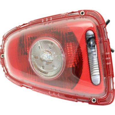 Perfect Fit Group REPM730379 - Cooper Tail Lamp RH, Assy, White Turn Indicator, Hatchback\ (Convertible Clear Lens)