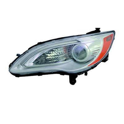 OE Replacement Headlight Assembly CHRYSLER 200 CONVERTIBLE 2011-2014