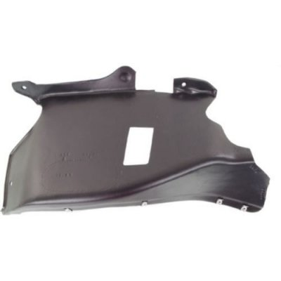 Make Auto Parts Manufacturing - FRONT PASSENGER SIDE UNDERCAR SHIELD; FITS 2.0L ENGINES; CONVERTIBLE - VW1228129