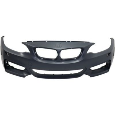 Make Auto Parts Manufacturing - 2 SERIES 14-16 FRONT BUMPER COVER, Prmd, w\ HLW, w\o IPAS and PDS, Convertible\Coupe - BM1000330