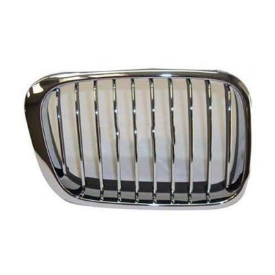 99-01 BMW 3 SERIES E46 323 325 328 330 SEDAN\WAGON (NOT FIT IN COUPE\CONVERTIBLE) GRILLE CHROME RH