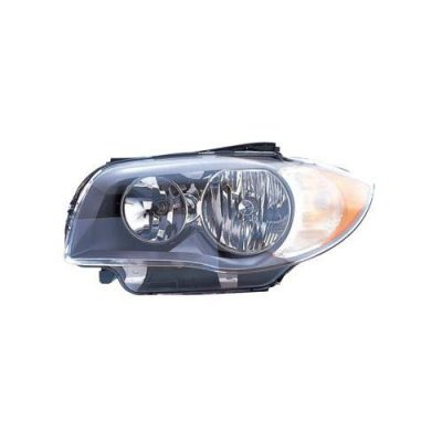 Fits BMW 1 Series Coupe 2008-2011\Convertible E88 2008-3\11 Headlight Assembly Halogen Driver Side BM2518118