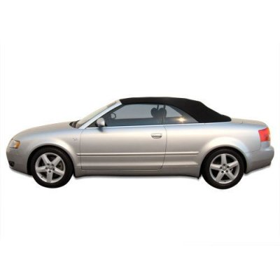 Audi A4 2003-2009 Convertible Top with Glass Window made from Haartz Stayfast, Black
