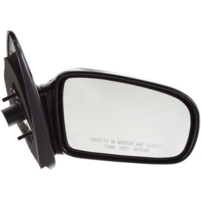 Make Auto Parts Manufacturing - PASSENGER SIDE MANUAL REMOTE DOOR MIRROR; CONVERTIBLE; BLACK - GM1321261