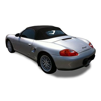 Porsche Boxster 986 1997-2002 Convertible Top With Heated Glass Window Blue Stayfast