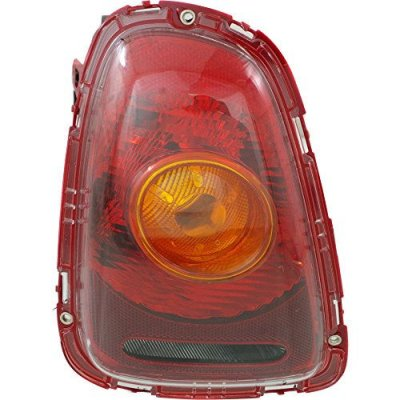 Evan-Fischer EVA156042716550 Tail Light for COOPER 07-10 Left Side Assy Yellow Turn Indicator Hatchback\(Convertible 09-10 Amber Lens)