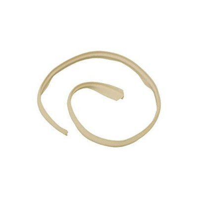 MACs Auto Parts 66-33942 - Ford Thunderbird Convertible Top Outer Front Seal, Rubber, Beige