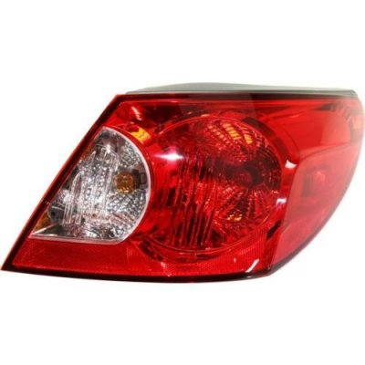Perfect Fit Group REPC730349 - Sebring Tail Lamp RH, Assembly, Convertible