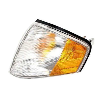Mercedes SL Class W129 R129 Convertible USA Type 1989-2002 White Corner Light Turn Signal LH OEM