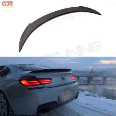 V Style Rear Trunk Spoiler Carbon Fiber For BMW 6 Series & M Series 2 - Door F06 F12 Coupe F13 Convertible M6 spoiler 2012 - UP