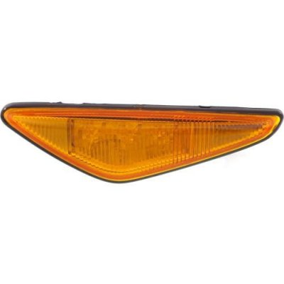 Perfect Fit Group B104512 - 3-Series Front Side Marker Lamp LH, Assembly, Side Repeater Lamp, Yellow, Coupe\ Convertible