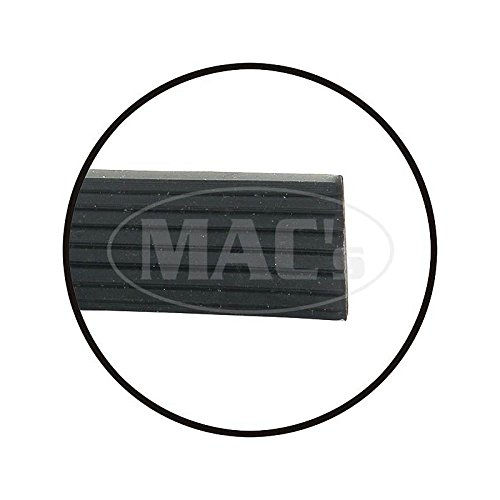 MACs Auto Parts 49-29783 Roof Rail Shim - Rubber - Ford Sunliner Convertible And Skyliner Retractable Hardtop