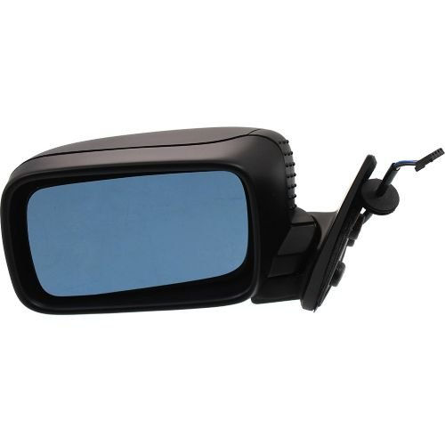 Make Auto Parts Manufacturing - 3-SERIES 92-99 MIRROR LH, Power, Heated, Manual Folding, Textured Black, Convertible\Coupe - BM1320108